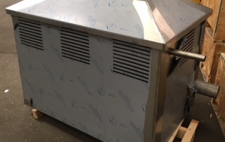 Bespoke generator enclosure for nuclear shelter from the Panic Room Company